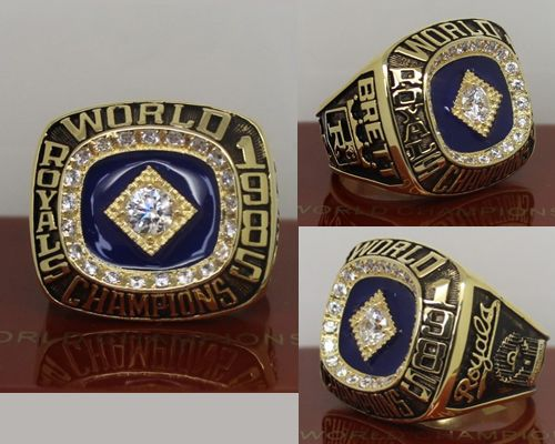 1985 MLB Championship Rings Kansas City Royals World Series Ring