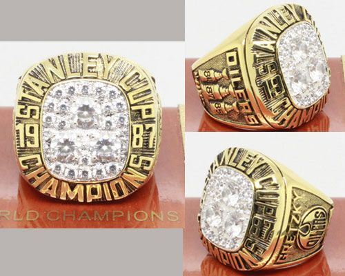 1987 NHL Championship Rings Edmonton Oilers Stanley Cup Ring