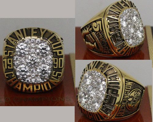1990 NHL Championship Rings Edmonton Oilers Stanley Cup Ring