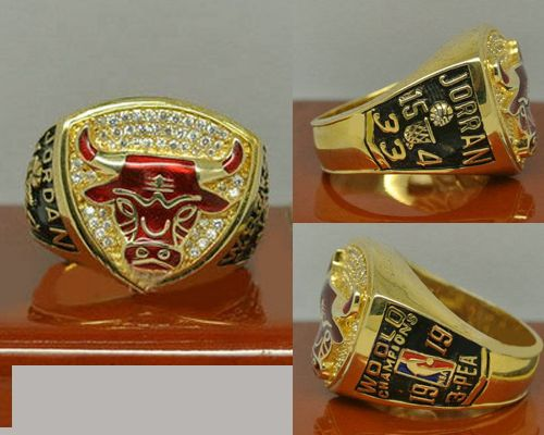 1993 NBA Championship Rings Chicago Bulls Basketball World