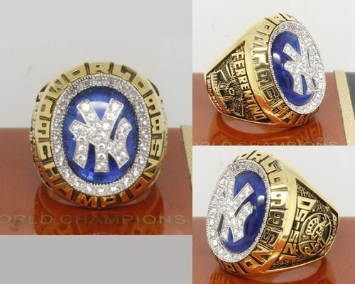 1998 MLB Championship Rings New York Yankees World Series Ring