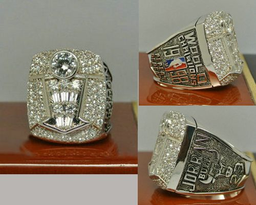 1998 NBA Championship Rings Chicago Bulls Basketball World