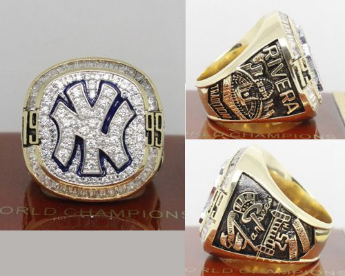 1999 MLB Championship Rings New York Yankees World Series Ring