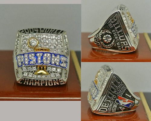 2004 NBA Championship Rings Detroit Pistons Basketball World