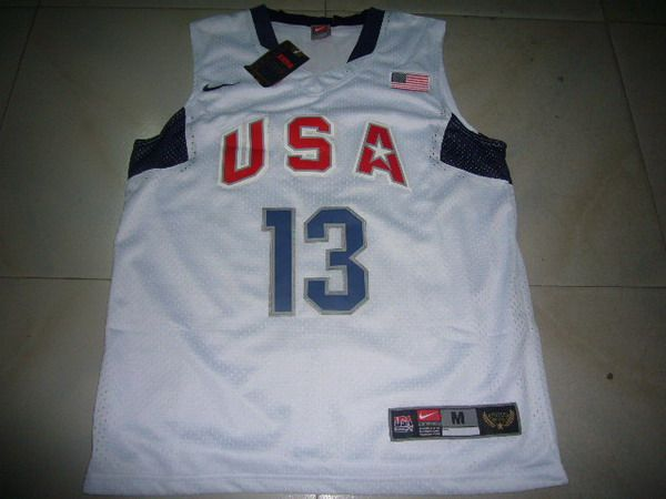 nba Olympic USA #13 paul Basketball Jersey