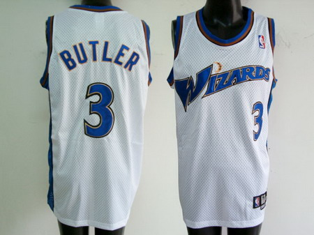 Washington Wizards 3 BUTLER white jerseys