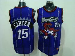 NBA Toronto Raptors #15 Carter Purple Jerseys swingman