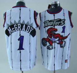 NBA Houston Rockets #1 Mcgrady White Jerseys swingman