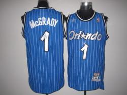 NBA Orlando Maglc #1 Hardaway Blue strip Jerseys Swingman