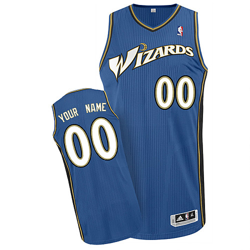 Wizards Personalized Authentic Blue Jersey (S-3XL)