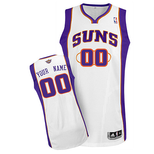 Suns Personalized Authentic White Jersey (S-3XL)