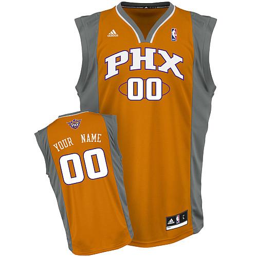 Suns Personalized Authentic Orange Jersey (S-3XL)