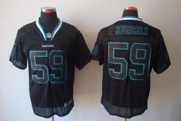 pretty nice 23402 8979a 2012 NEW NFL Carolina Panthers 59 Kuechly Lights Out Black ...