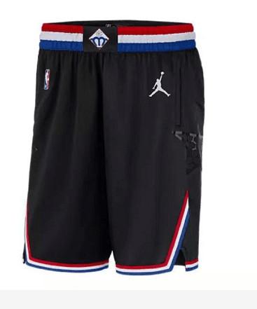 2019 NBA All-Star Black Jordan Brand Swingman Shorts