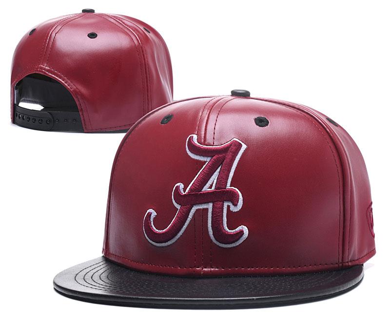 Alabama Crimson Tide Team Logo Red Ajustable Hat GS