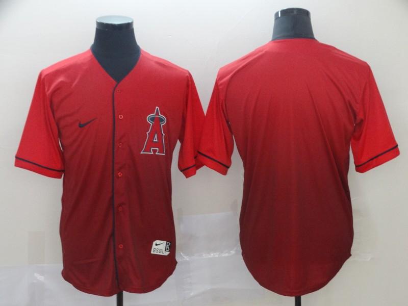 Angels Blank Red Drift Fashion Jersey
