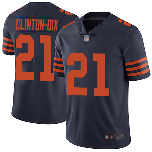Bears #21 Ha Ha Clinton-Dix Navy Blue Alternate Men's Stitched Football Vapor Untouchable Limited Jersey
