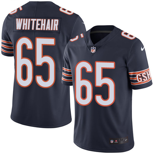 Bears #65 Cody Whitehair Navy Blue Team Color Youth Stitched Football Vapor Untouchable Limited Jersey