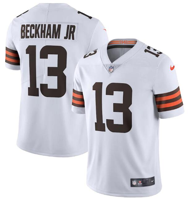 Beckham Jr. White 2020 New Vapor Untouchable Limited Jersey