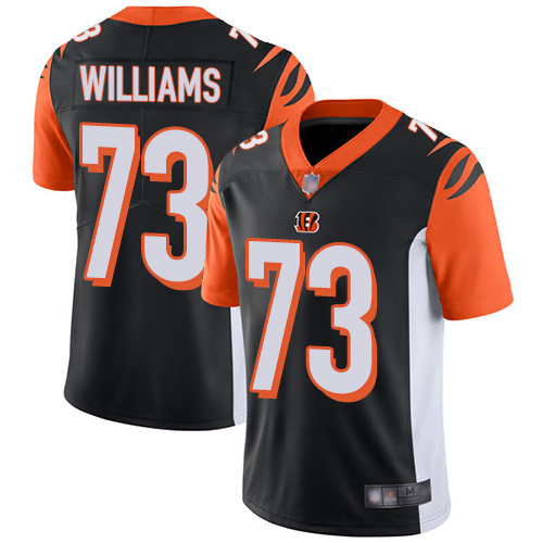 Bengals #73 Jonah Williams Black Team Color Men's Stitched Football Vapor Untouchable Limited Jersey
