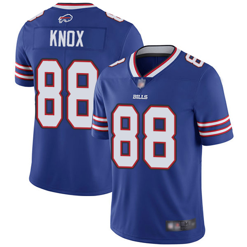 Bills #88 Dawson Knox Royal Blue Team Color Men's Stitched Football Vapor Untouchable Limited Jersey