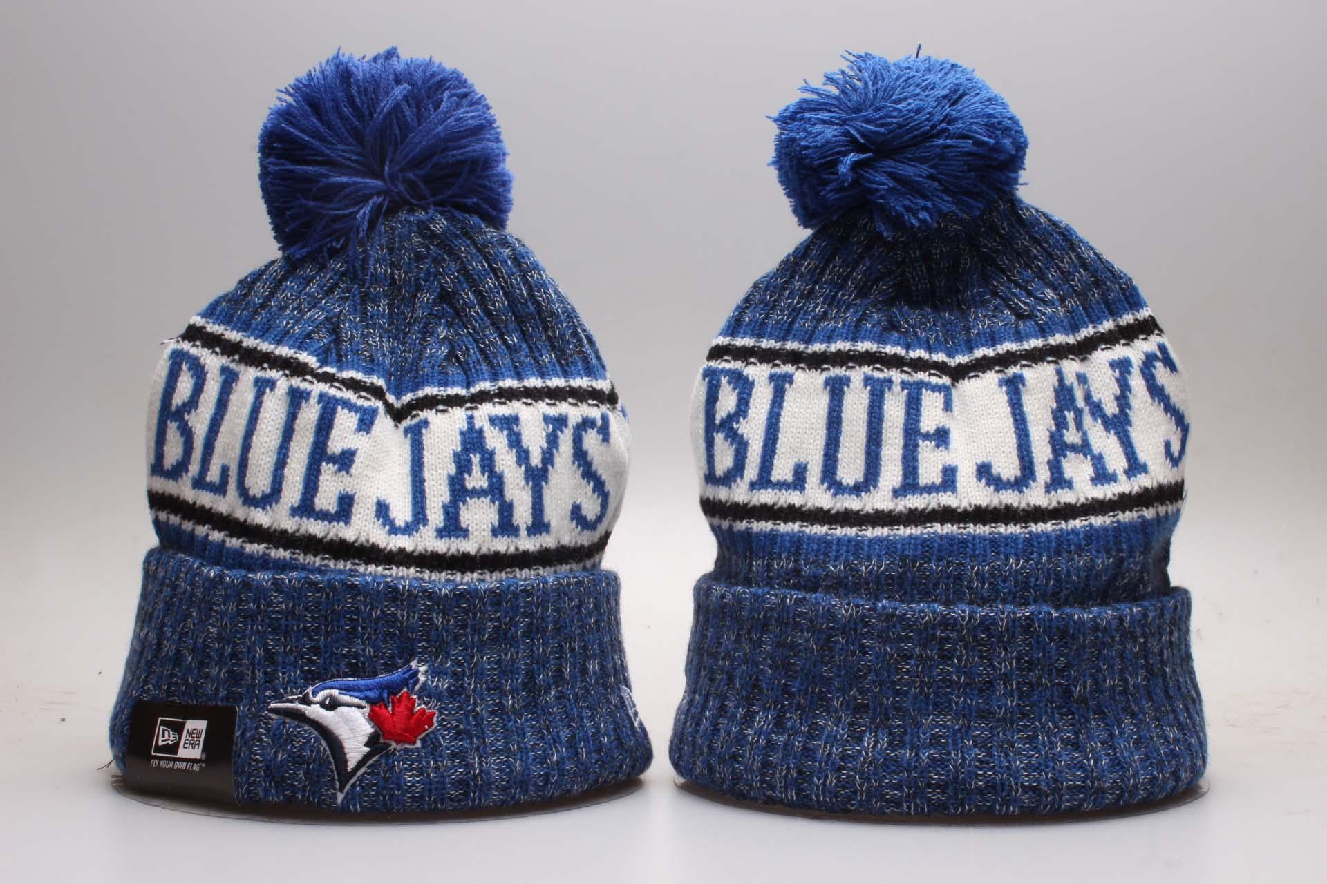 Blue Jays Fresh Logo Royal Knit Hat YP