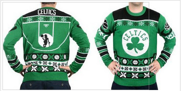 Boston Celtics Men's NBA Ugly Sweater
