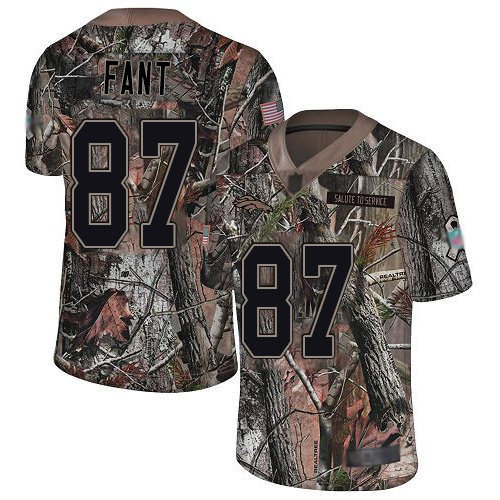 Broncos #87 Noah Fant Camo Men's Stitched Football Limited Rush Realtree Jersey