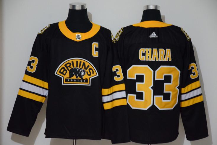 Bruins 33 Zdeno Chara Black 3rd Adidas Jersey