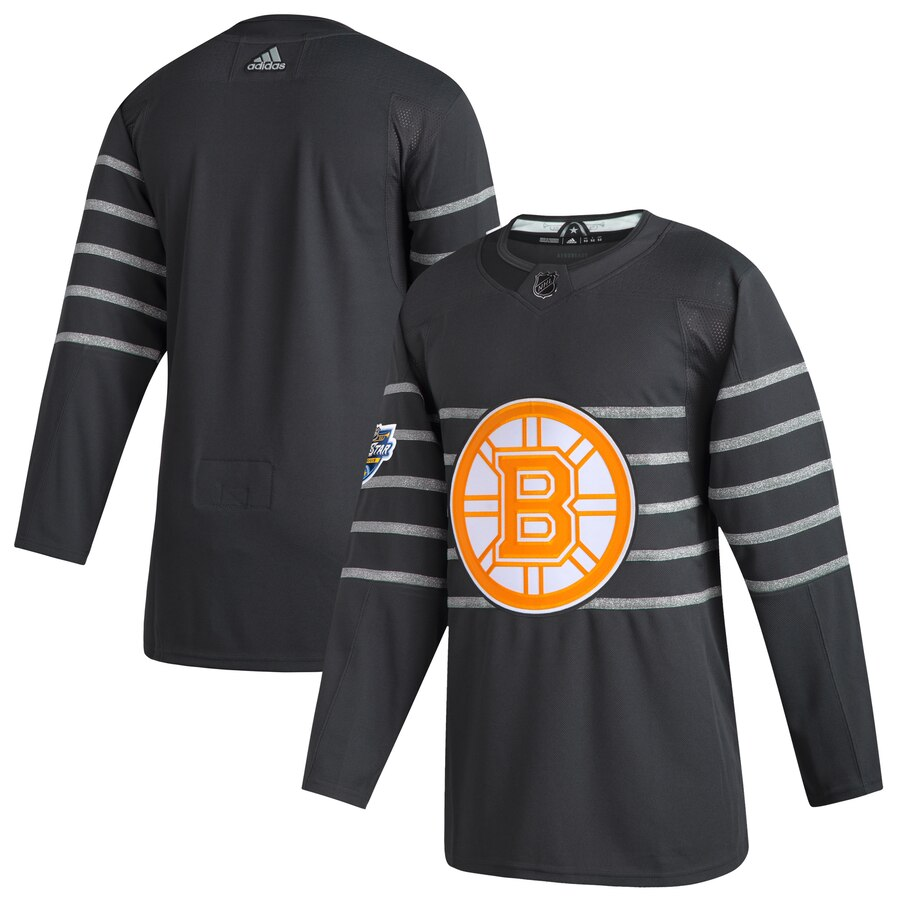 Bruins Blank Gray 2020 NHL All-Star Game Adidas Jersey
