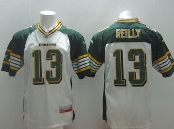 CFL Jersey Edmonton Eskimos #13 Mike Reilly White Stitched CFL Jersey