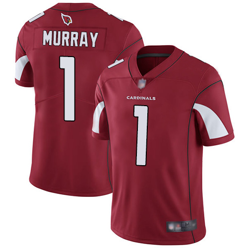 Cardinals #1 Kyler Murray Red Team Color Men's Stitched Football Vapor Untouchable Limited Jersey