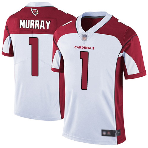 Cardinals #1 Kyler Murray White Men's Stitched Football Vapor Untouchable Limited Jersey