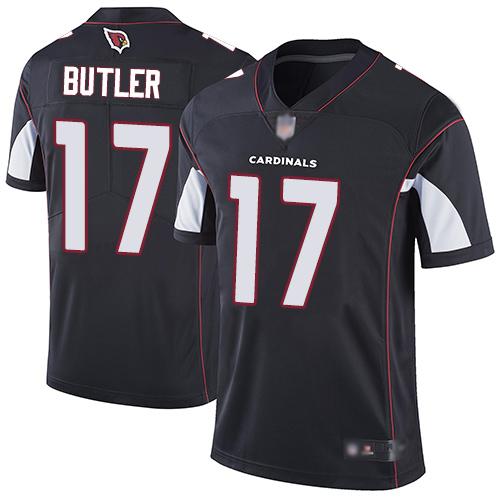 Cardinals #17 Hakeem Butler Black Alternate Men's Stitched Football Vapor Untouchable Limited Jersey