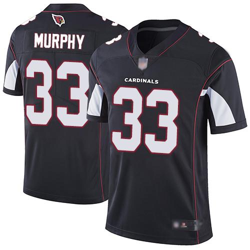 Cardinals #33 Byron Murphy Black Alternate Men's Stitched Football Vapor Untouchable Limited Jersey