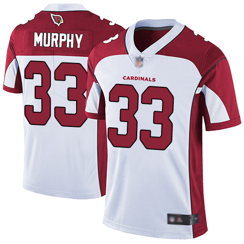 Cardinals #33 Byron Murphy White Men's Stitched Football Vapor Untouchable Limited Jersey