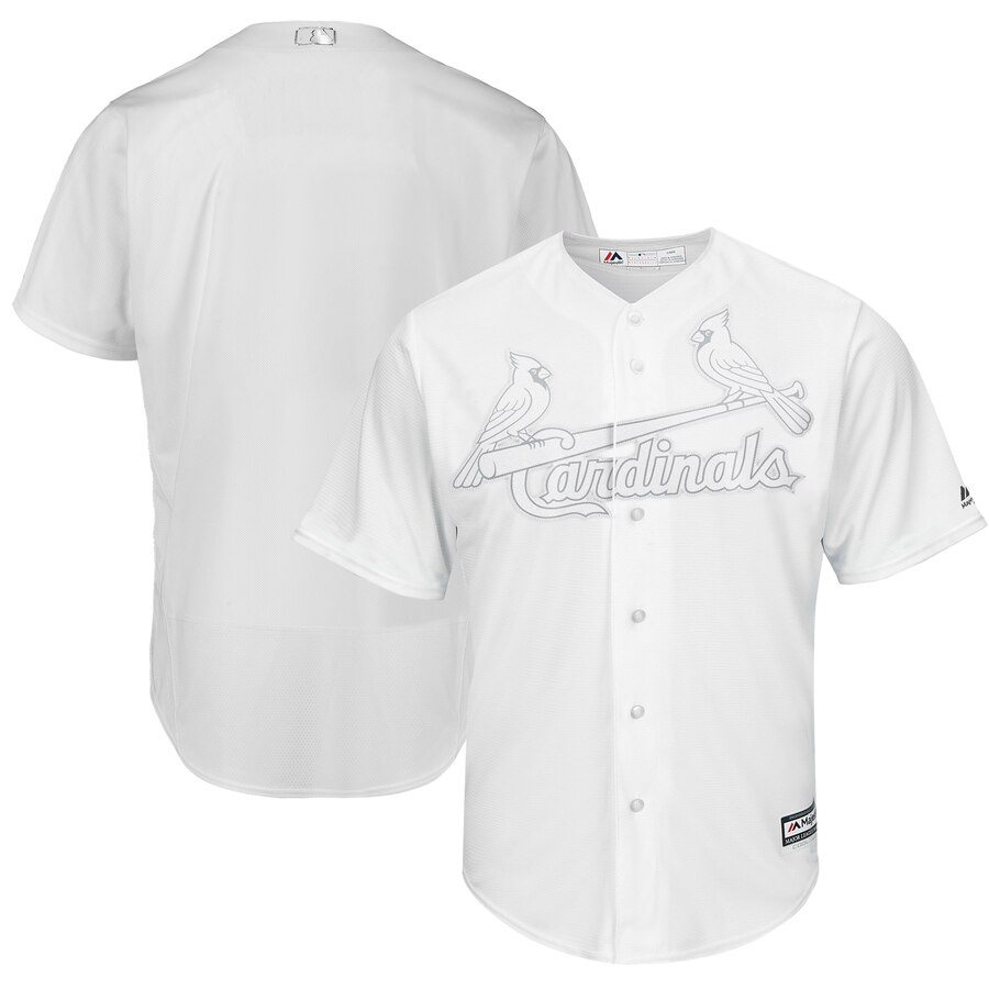 Cardinals Blank White 2019 Players' Weekend Player Jersey