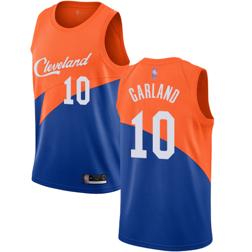 Cavaliers #10 Darius Garland Blue Basketball Swingman City Edition 2018 19 Jersey