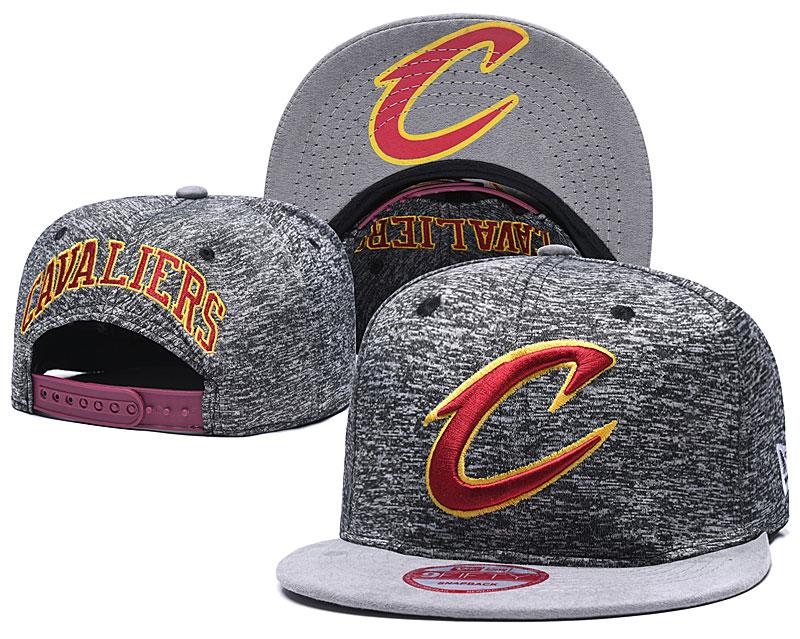 Cavaliers Team Logo Gray Adjustable Hat TX
