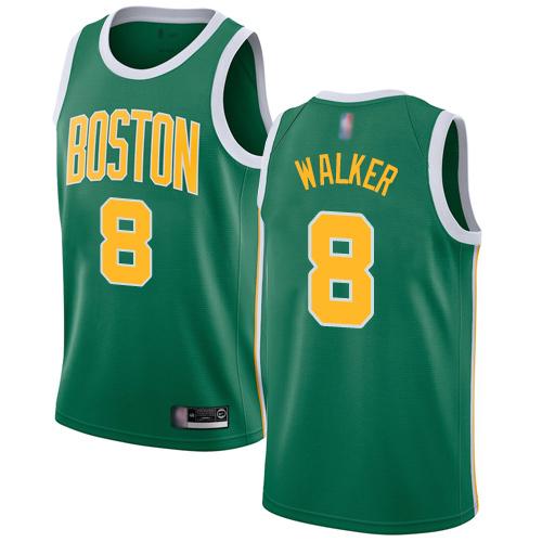Celtics #8 Kemba Walker Green Basketball Swingman Earned Edition Jersey