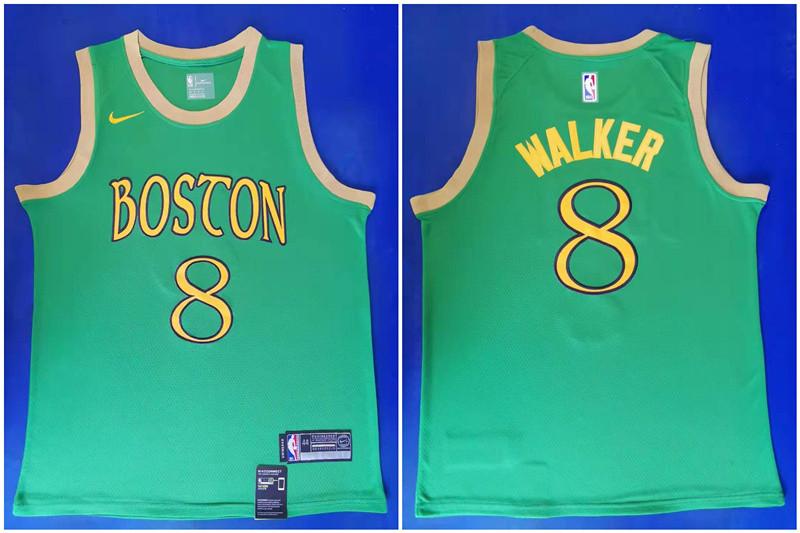 Celtics 8 Kemba Walker Green 2019-20 City Edition Swingman Jersey