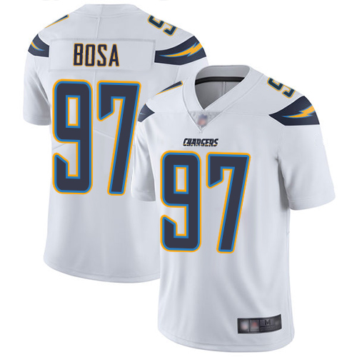 Chargers #97 Joey Bosa White Men's Stitched Football Vapor Untouchable Limited Jersey