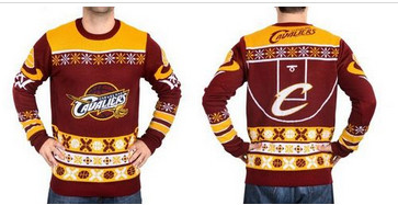 Cleveland Cavaliers Men''s NBA Ugly Sweater