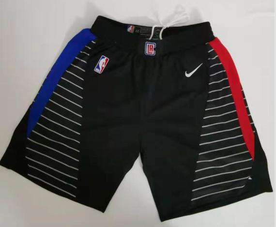 Clippers Black City Edition Swingman Short
