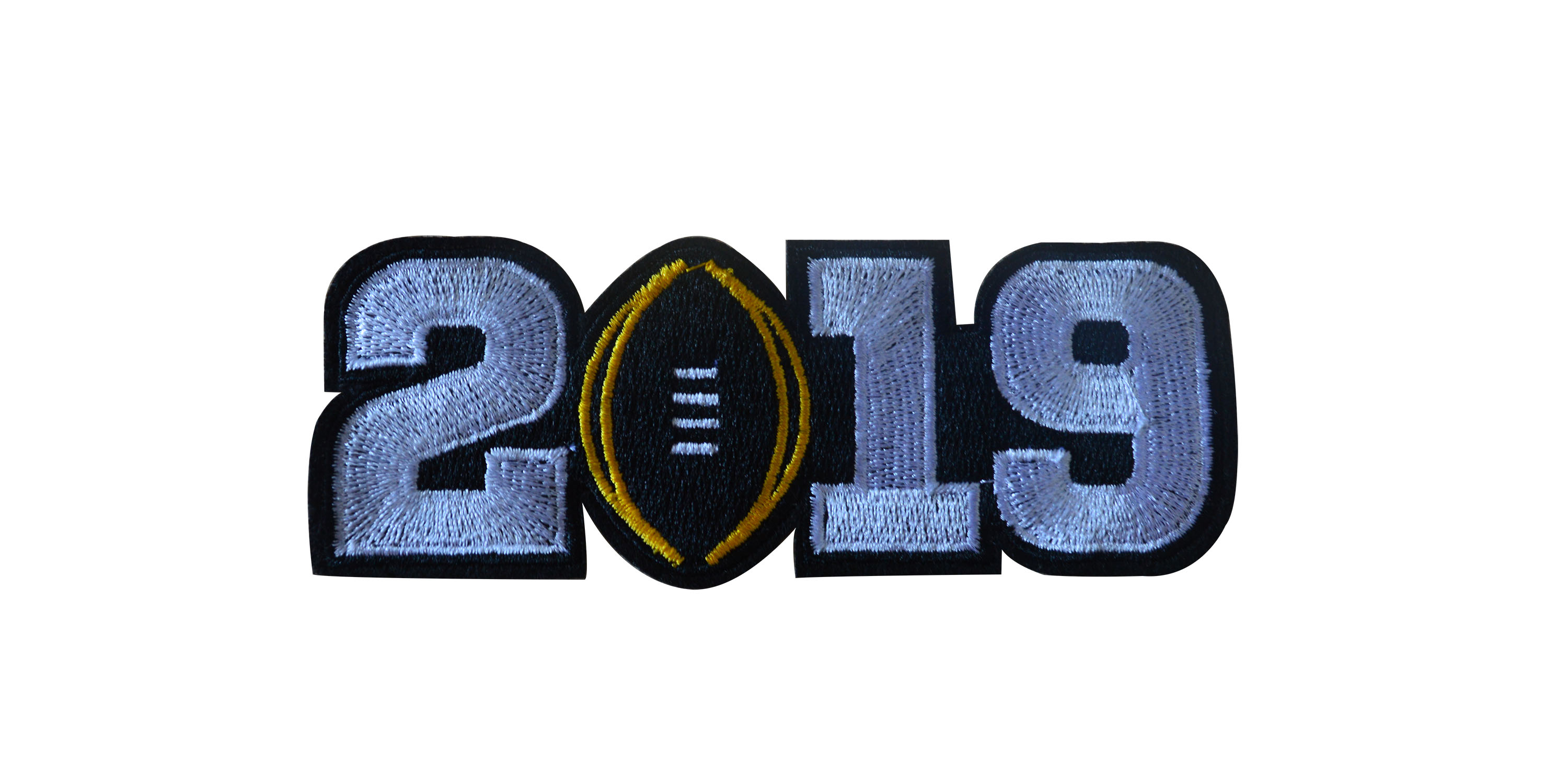 College Football White 2019 Finals Patch