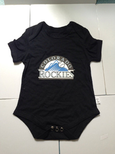 Colorado Rockies MLB Kids Newborn&Infant Gear Black