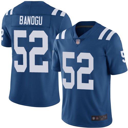 Colts #52 Ben Banogu Royal Blue Team Color Men's Stitched Football Vapor Untouchable Limited Jersey