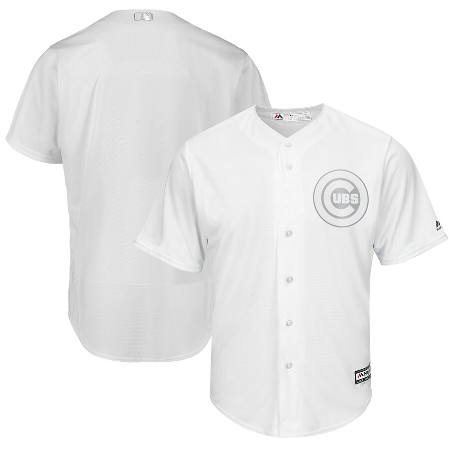 Cubs Blank White 2019 Players' Weekend Player Jersey