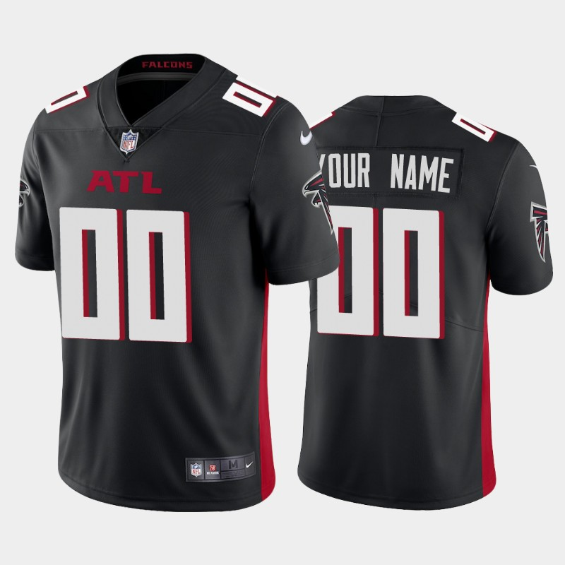 Custom Atlanta Falcons black 2020 new Vapor Limited Jerseys