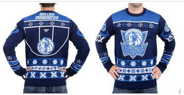 Dallas Mavericks Men''s NBA Ugly Sweater